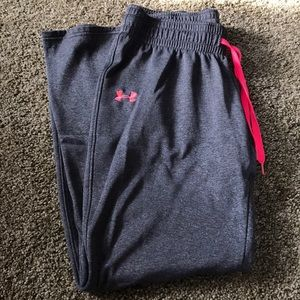 Under armor breast cancer awareness sweat pants